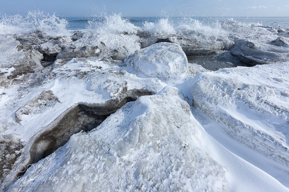 Photograph Icy Waves by Martin Bailey on 500px