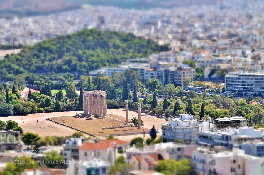 Photograph Miniature Athens by Roy Cheung on 500px