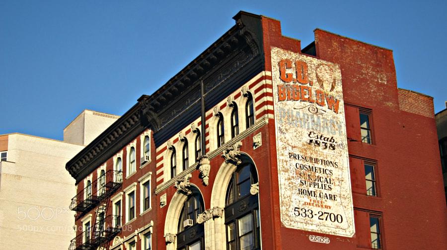 Downtown Manhattan, New York City  January 2012