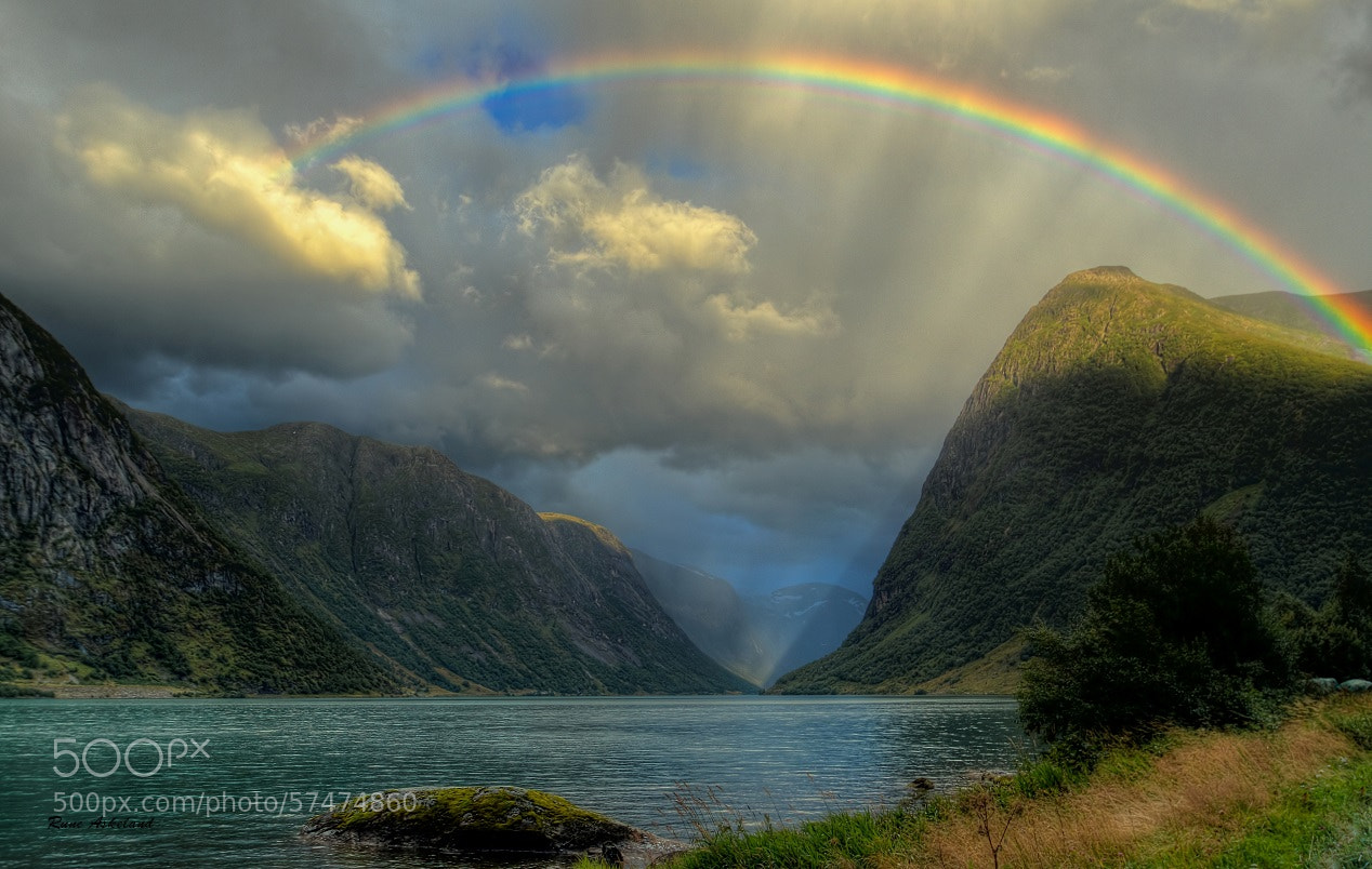 landscape photography rainbow