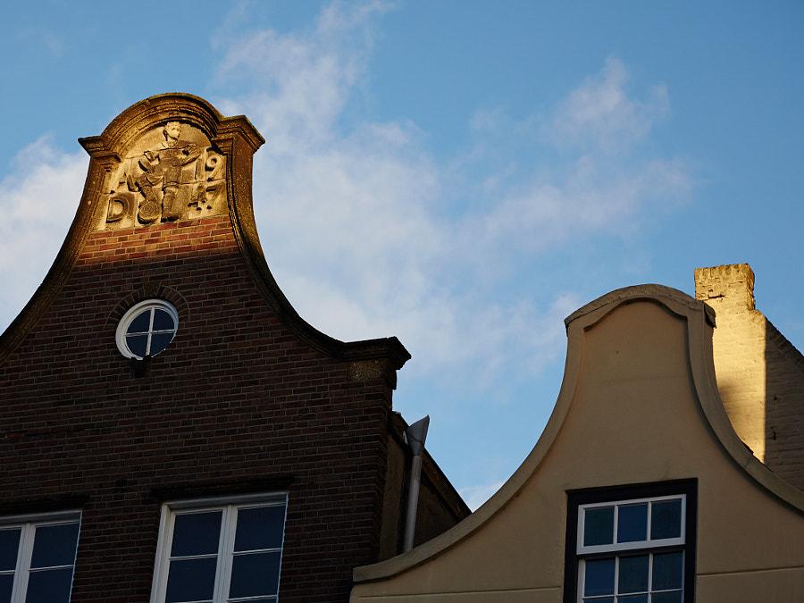 Old houses in Den Bosch