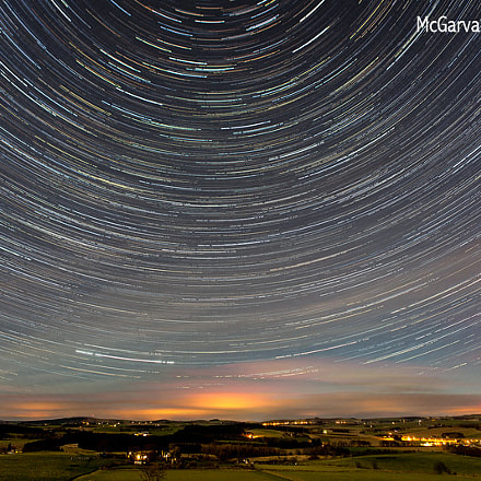 Garioch Star Trails