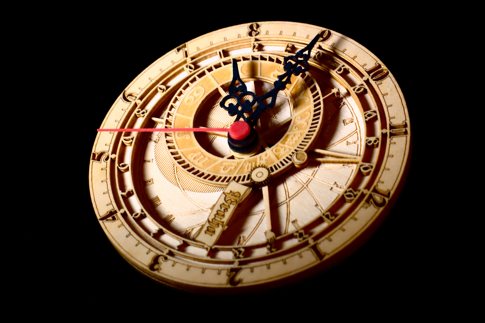 Photograph wooden clock  by Daria Teplova on 500px