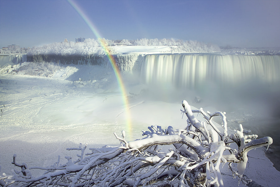 Polar Vortex in Niagara by Magda  Bognar on 500px.com