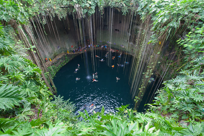 Cenote Ik kil by Natta Summerky on 500px