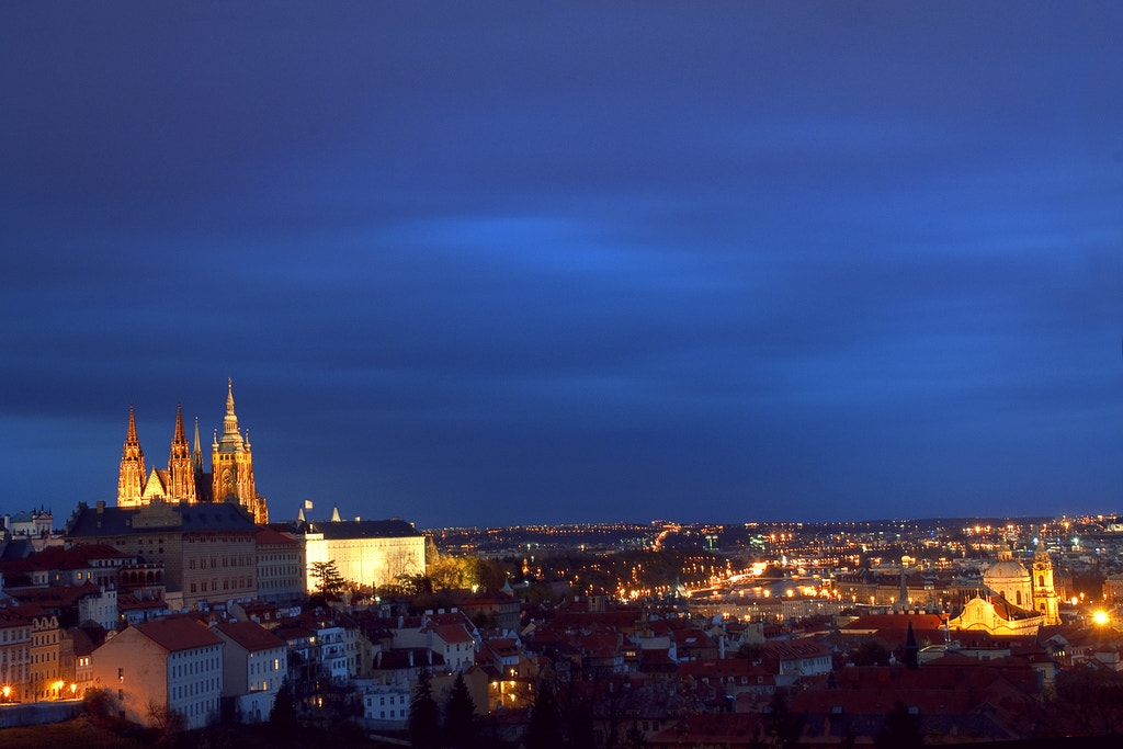 Photograph St. Vitus Cathedral in Prague by Samantha T on 500px
