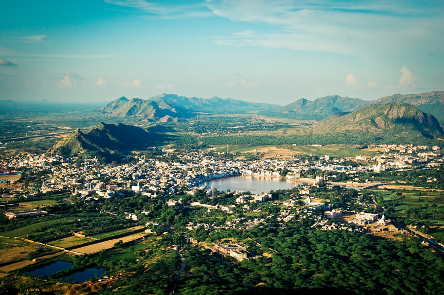 View over Pushkar by Alex Fritz on 500px.com