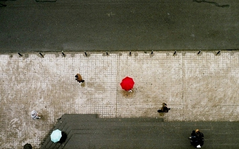 Photograph The red umbrella by Alina Orel on 500px