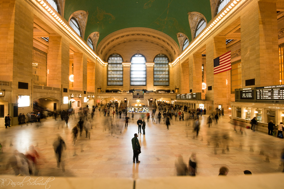 Photograph Grand Central Station by Pascal Schmidt on 500px