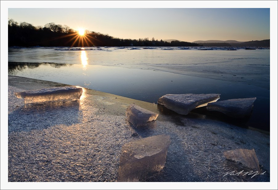 Photograph River of Ice, Hudson River by Robert Rodriguez Jr on 500px