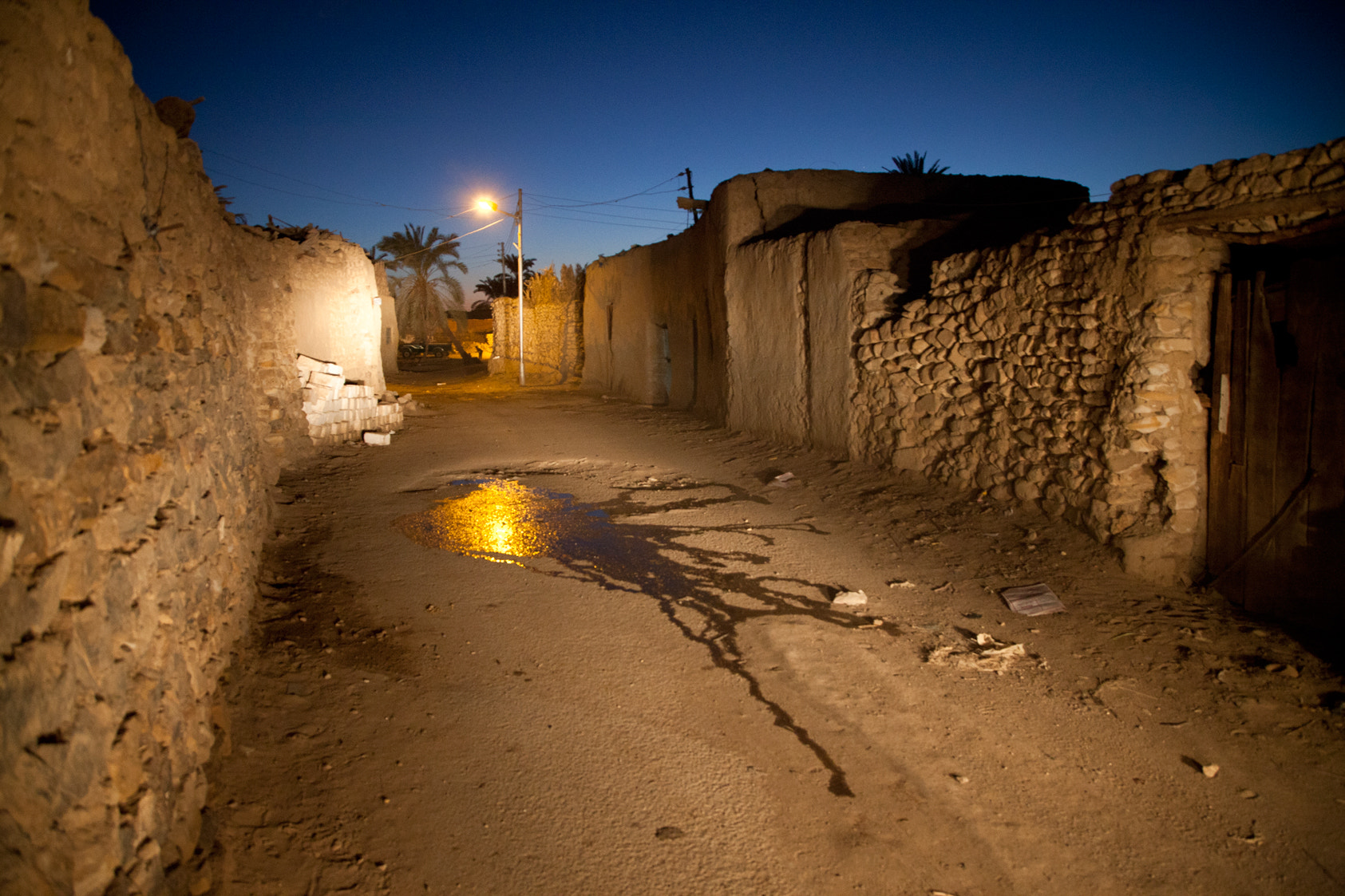 Photograph Streets of the deep Sahara Oasis by Leandro Sanchez on 500px