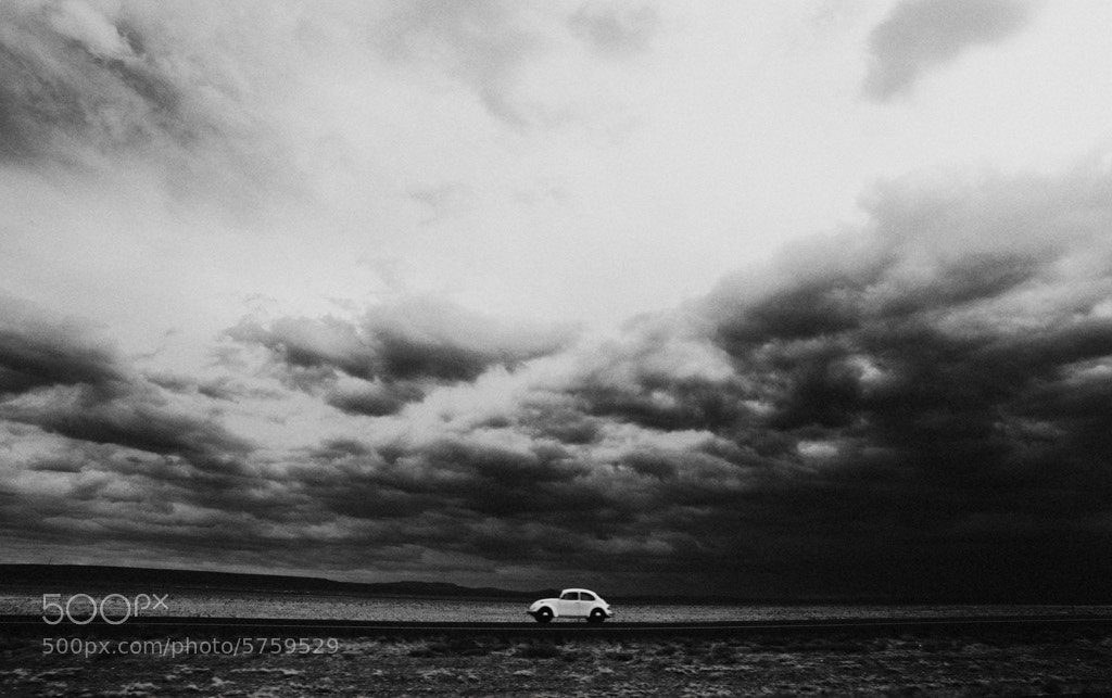 Photograph Running from the Storm by Letsbewild.com  on 500px