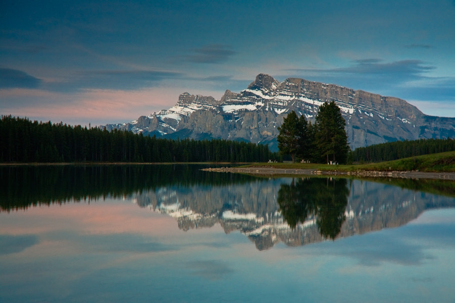 Photograph Two Jack Lake by Jack Booth on 500px