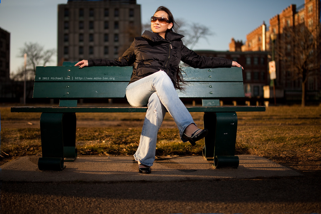 Photograph Park Bench Glamour by Michael Lee on 500px