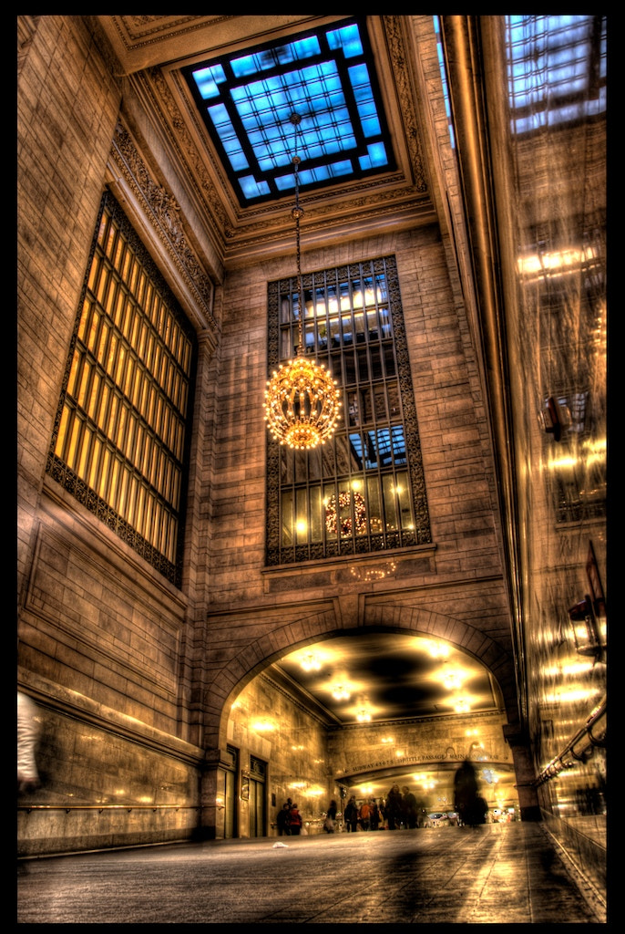 Photograph Grand central terminal NYC by Mauricio Arango on 500px