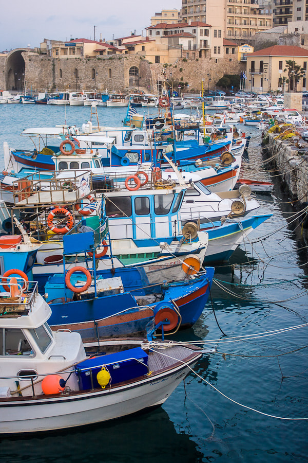 Photograph Fishing boats by Stavros Markopoulos on 500px