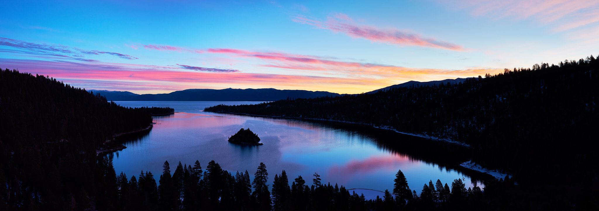 Photograph Twilight on Emerald Bay by Tim Peare on 500px
