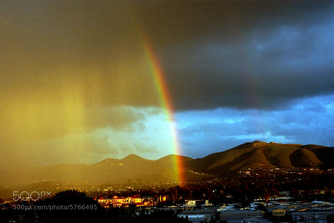 Photograph San Marcos Rainbow by Chuck Kirman on 500px