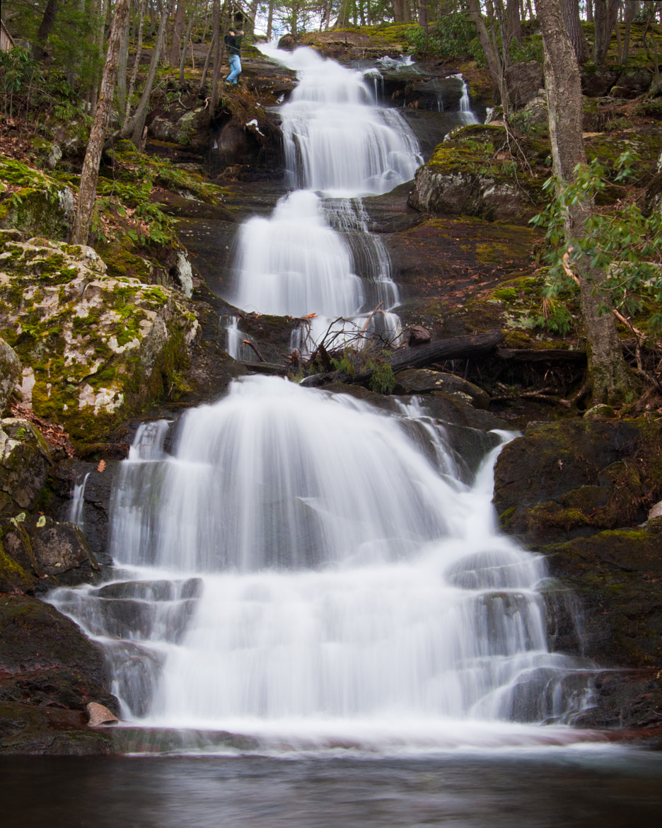 Photograph Buttermilk Falls w/Perspective by Jeff Scozzafava on 500px