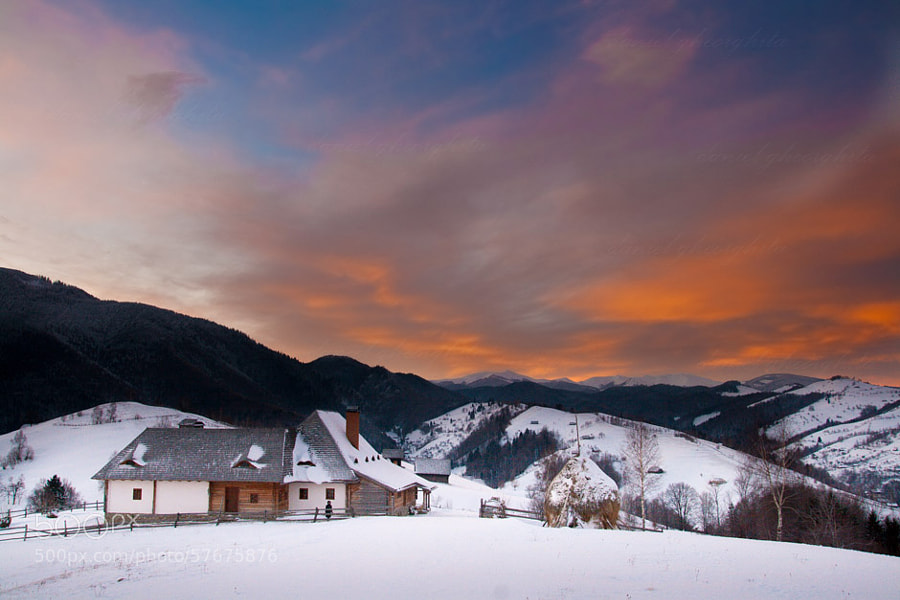 Photograph Sunrise in the Carpathian Mountains by Daniel Gheorghita on 500px