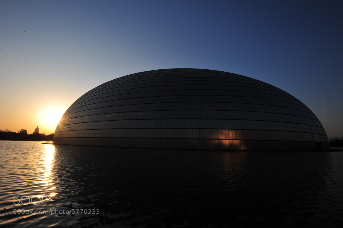 Photograph The Egg, Beijing by Fredrik Koerfer on 500px
