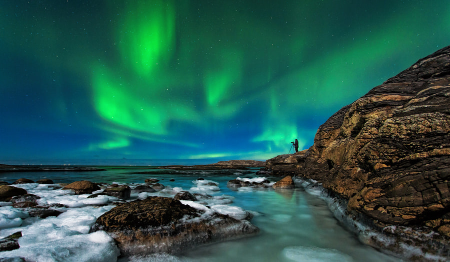 The love for Aurora by Tommy Angelsen on 500px