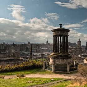 Dugal Stewart Monument - Edinburgh, Scotland by Craig Taylor (crtaylor_photo)) on 500px.com