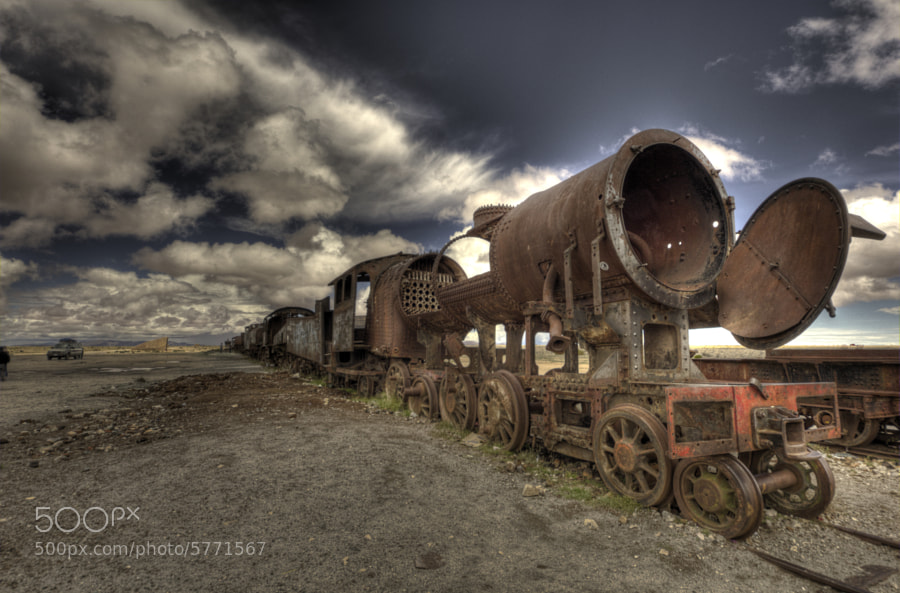 Train Cemetery by Cezar Reigada (xcezarx) on 500px.com