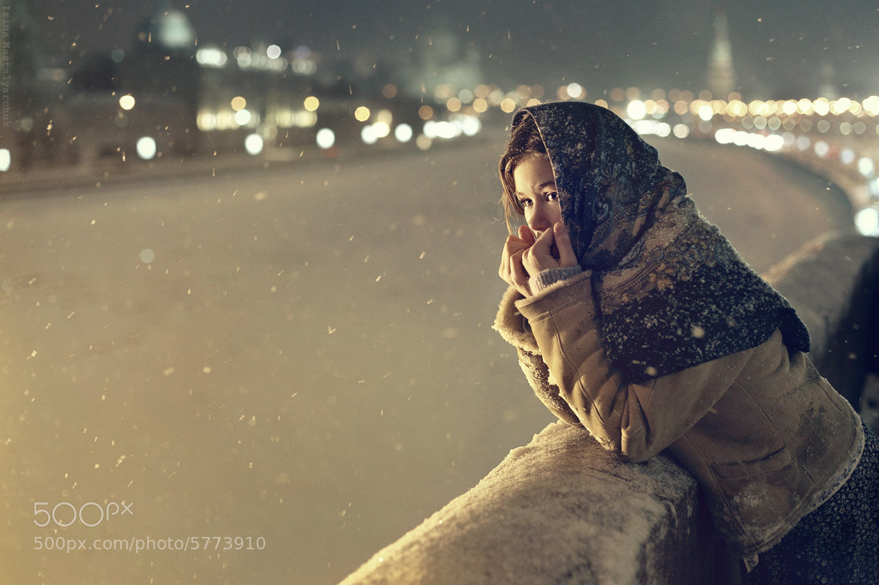"Photograph ""winter's Tale in Moscow"" by Irina  Mastalyarchuk on 500px"