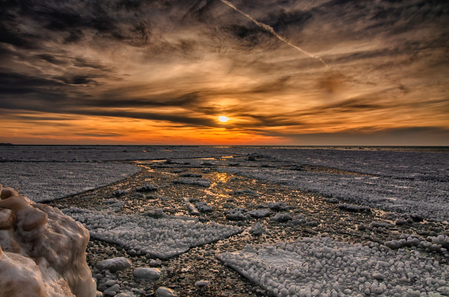 Photograph Frozen Lake Michigan by Krzysztof Hotlos on 500px