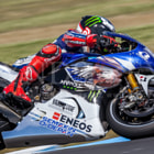 ������, ������: Jorge Lorenzo giving rides to seagulls in Q2 at Phillip Island Australia