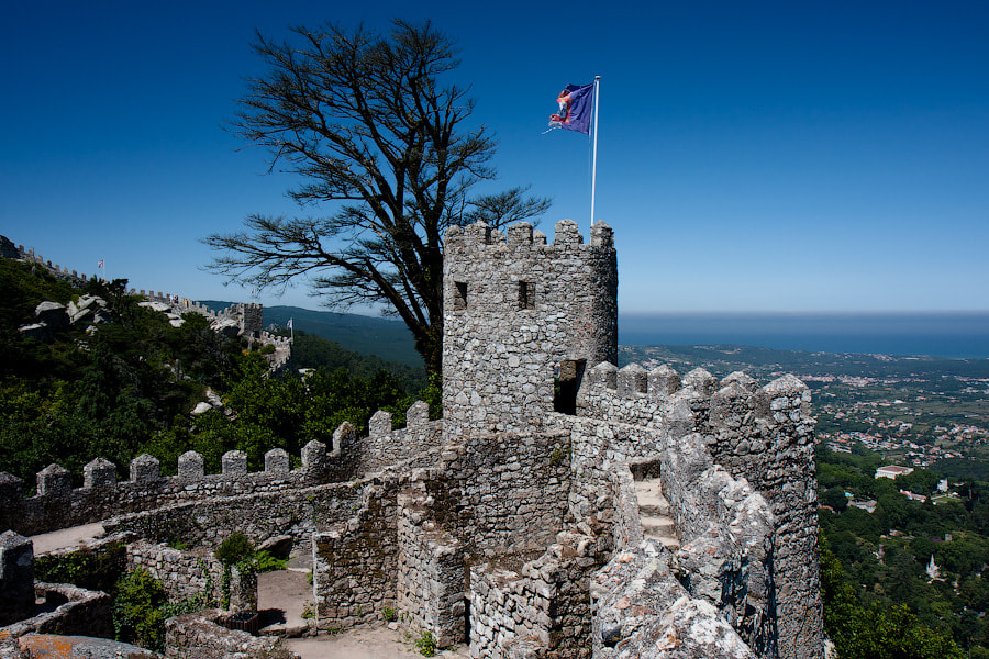 Photograph Castle of the Moors by Alexander Dragunov on 500px