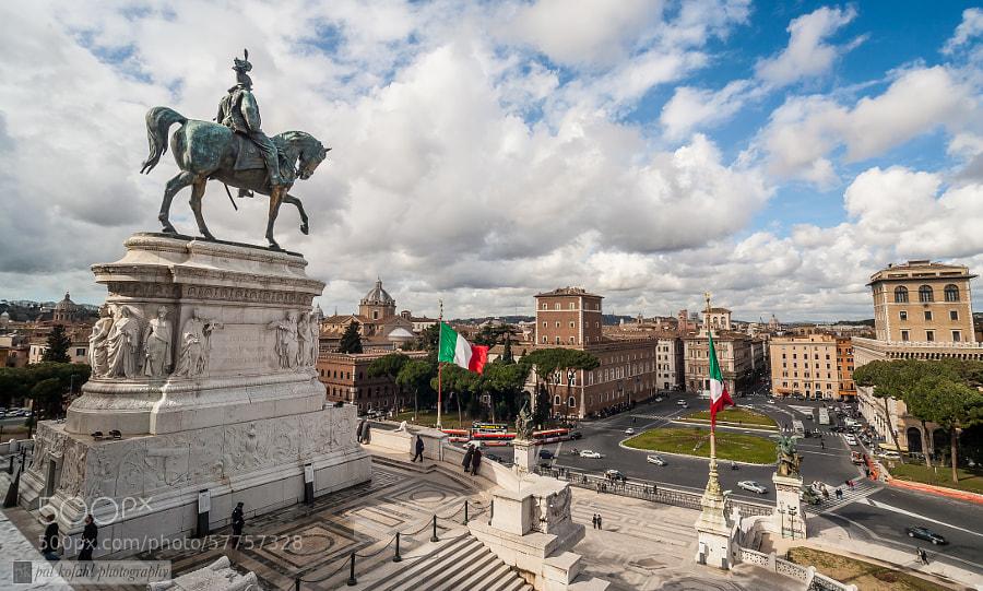 Altare della Patria - Roma by Pat Kofahl on 500px.com