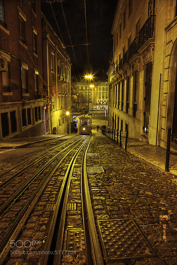 Down Town Lisbon by Romain Matteï