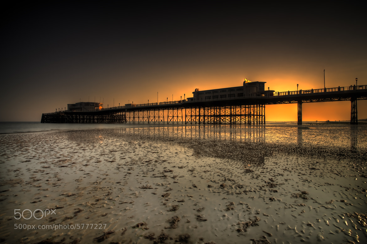 Photograph Worthing pier HDR by Dean Bedding on 500px