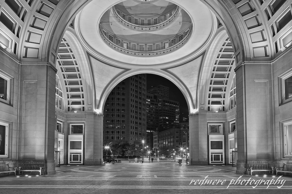 Photograph Rowes Wharf Archway and Rotunda by Redmere Photography on 500px