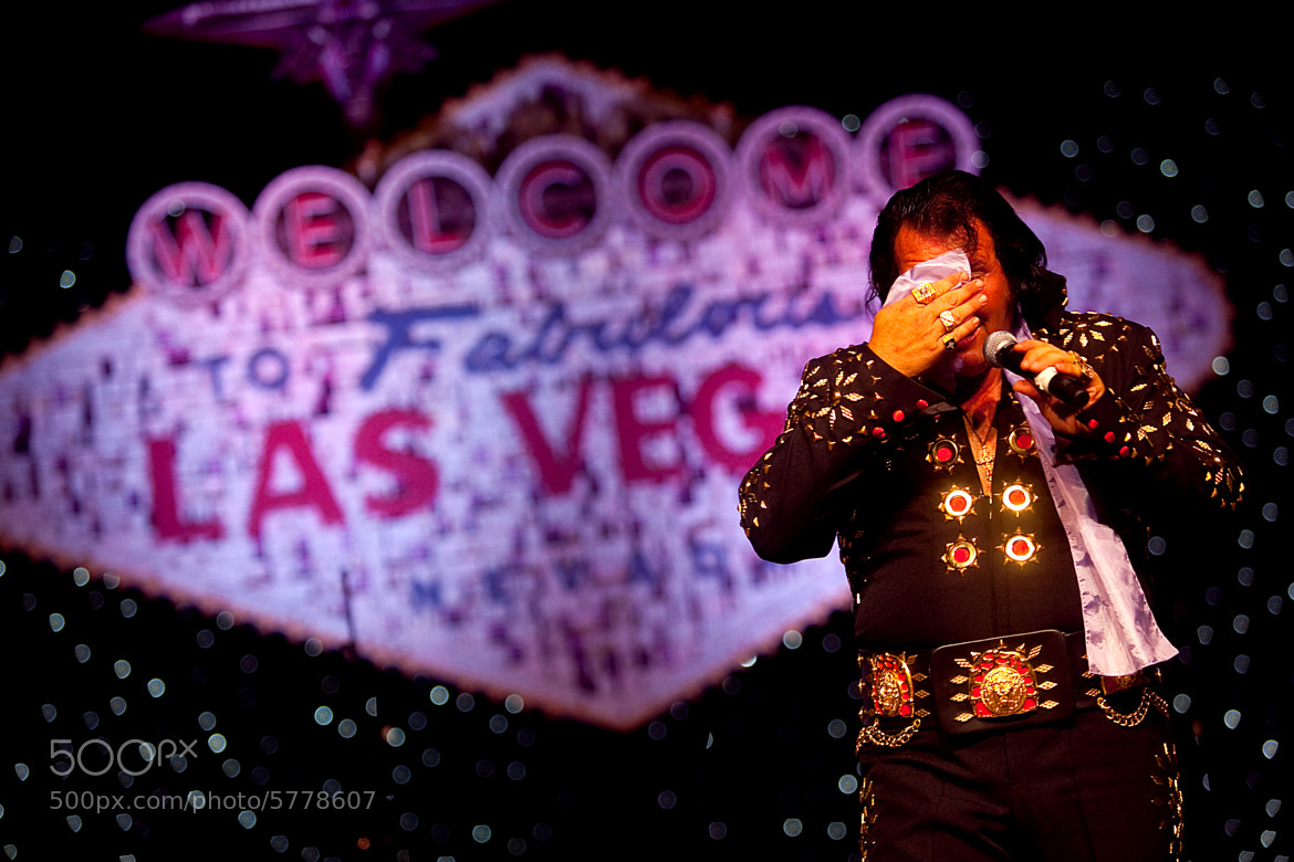 Photograph vegasElvis by maique madeira on 500px