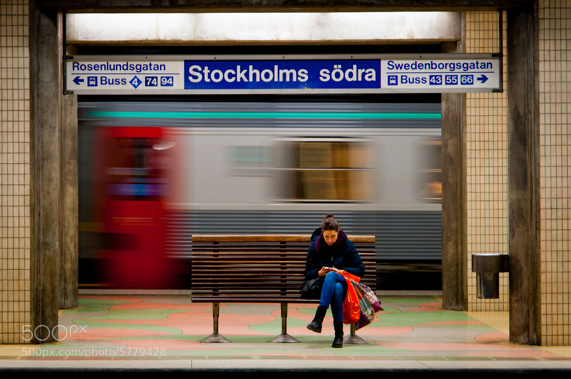 Photograph Train passes by, while I'm still daydreaming by Sören Taraldsson on 500px