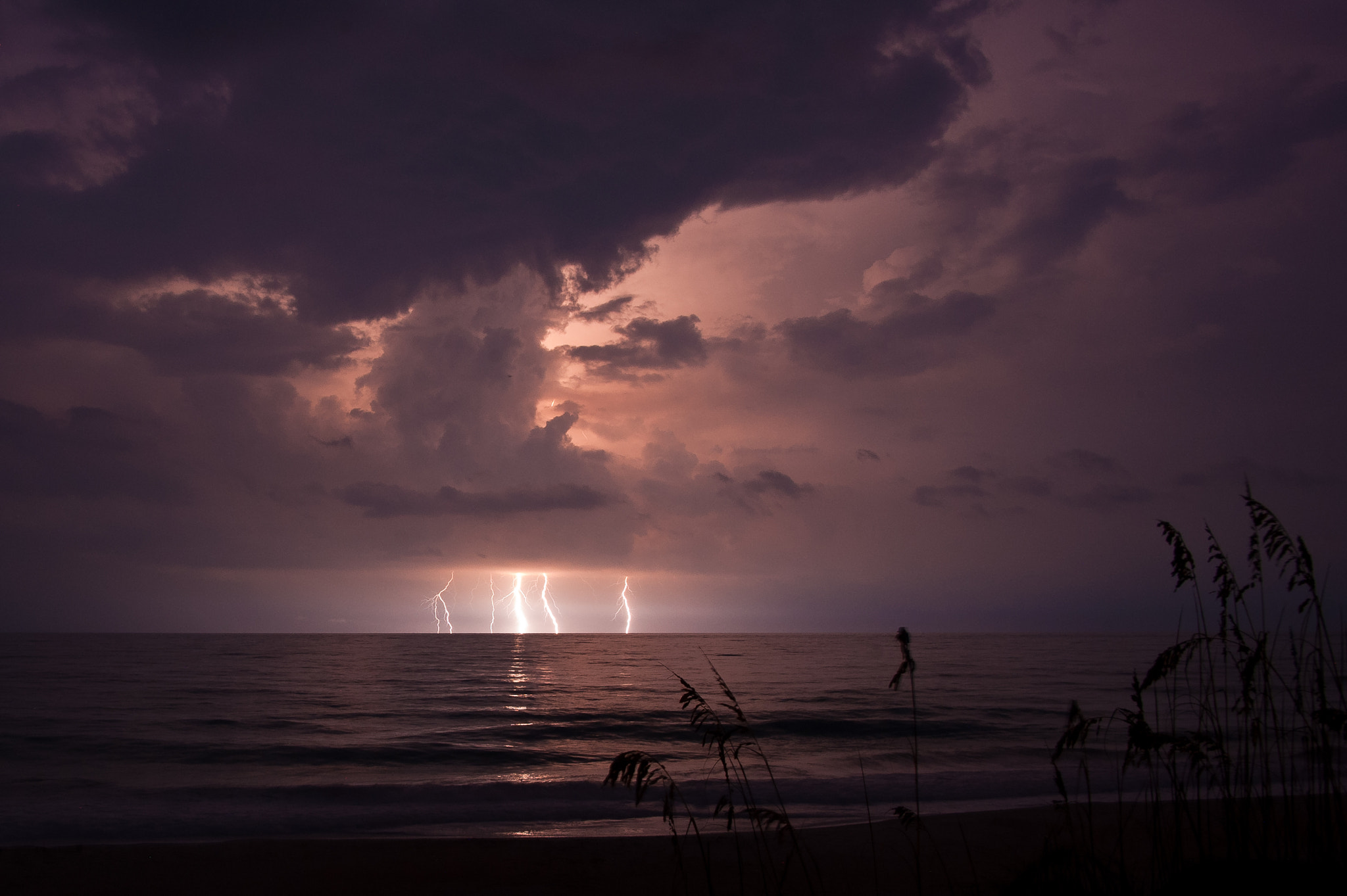 Photograph Lightning Crashes by Lee Shelly on 500px