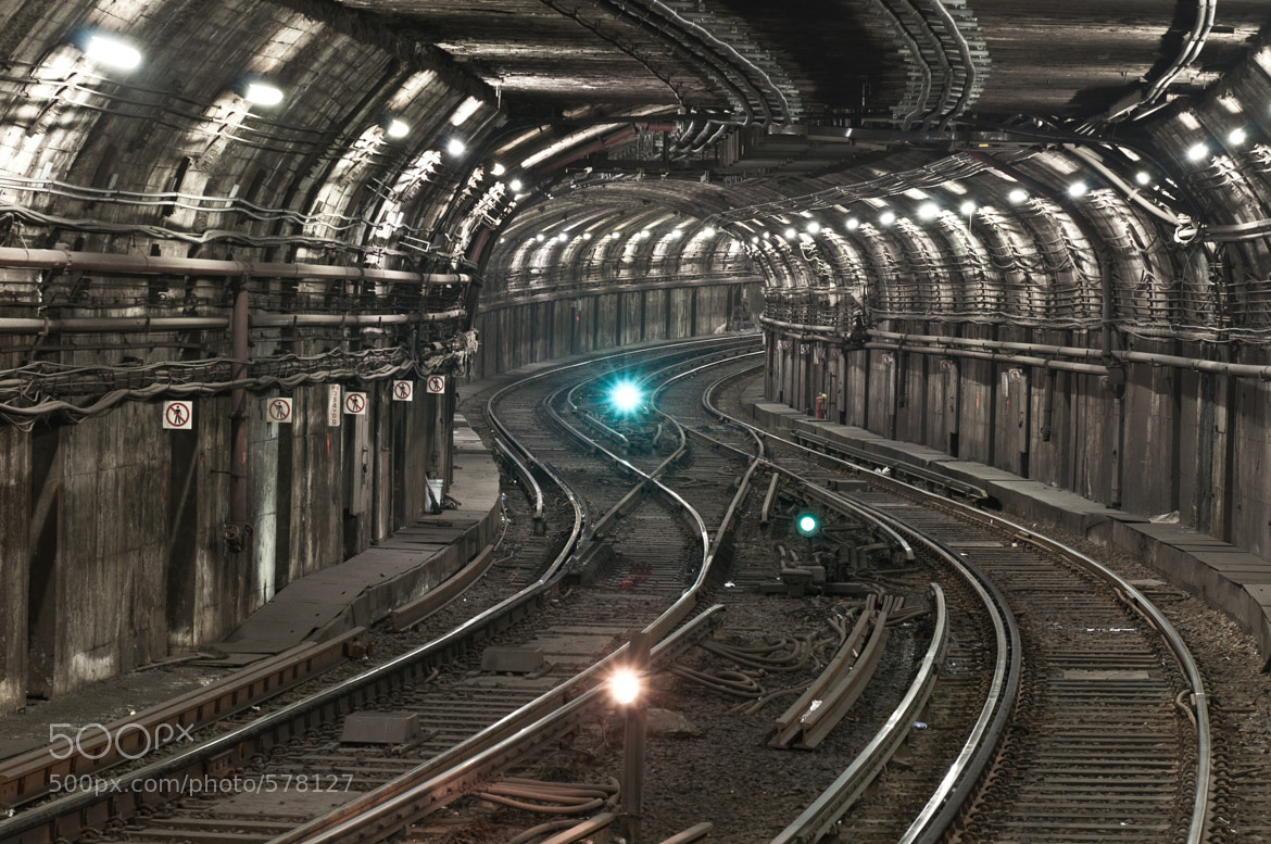 Photograph Underground Rail by Michal Cialowicz on 500px