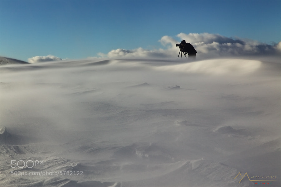 Photograph Operation Snow Desert by Matteo Zanvettor on 500px