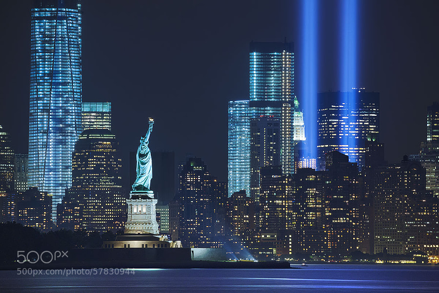 Photograph 9/11 Memorial & Tribute by ROAD TO THE MOON  on 500px