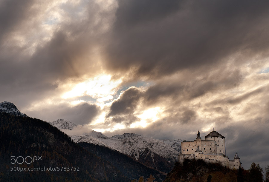 Photograph Tarasp Castle by Thomas Zimmer on 500px