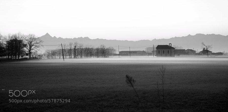 Piemont's champaign Under the Fog  Ph Alessandro MP Fotografia  Studio Fotografico Enrico Scarsi Corso Chieti 19 TORINO