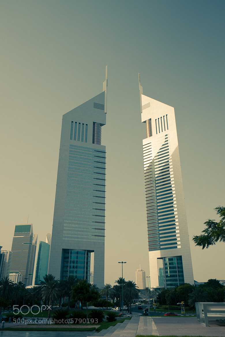 Photograph Emirates Towers Dubai, UAE by ooooA8  on 500px