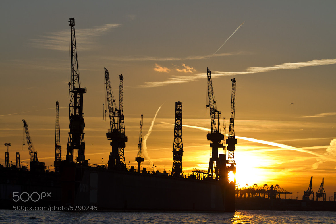 Photograph Harbour Sunset by Marco Wahl on 500px