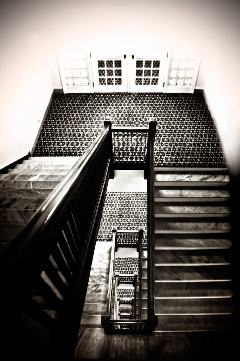 Photograph Stairs at the Fairmont Edmonton by Carla Stringari Pudler on 500px