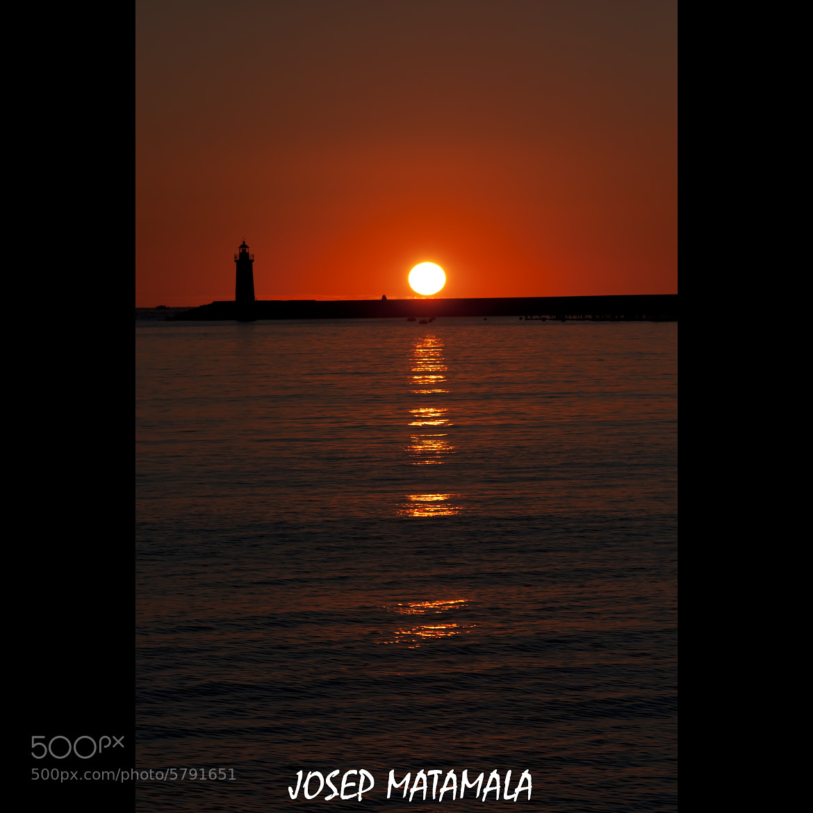 Photograph POSTA DEL SOL by JOSEP MATAMALA on 500px