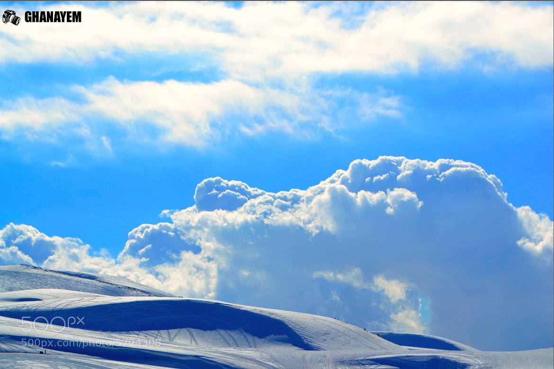 Photograph Sky,Cloud,Snow by jamil ghanayem on 500px