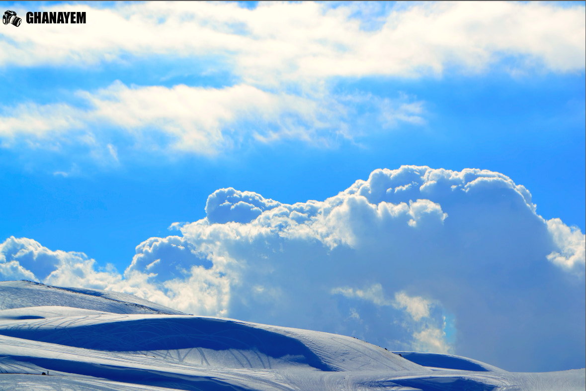 Photograph Sky,Cloud,Snow by jamil ghanayem on 500px